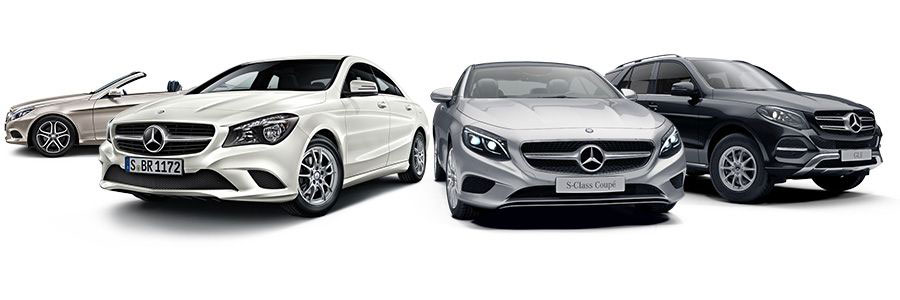Mercedes-Benz model overview